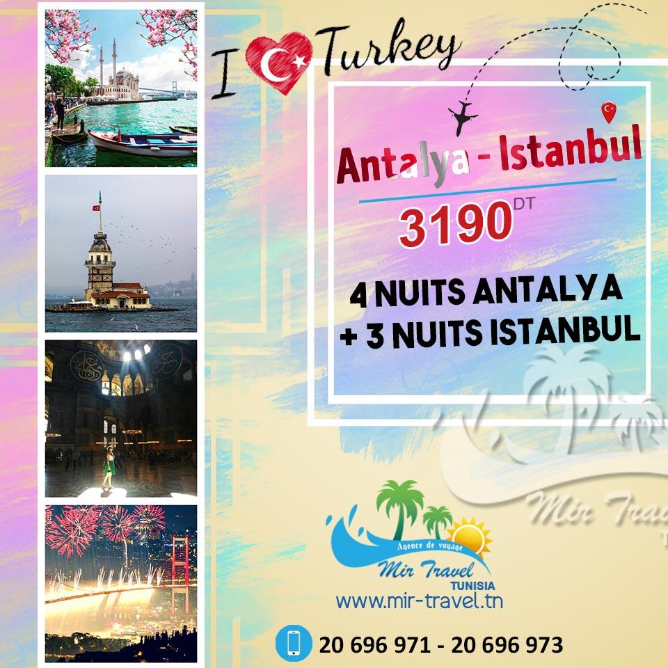 Antalya - Istanbul